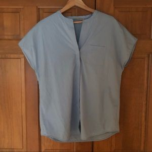 Vince Popover Button Up Top